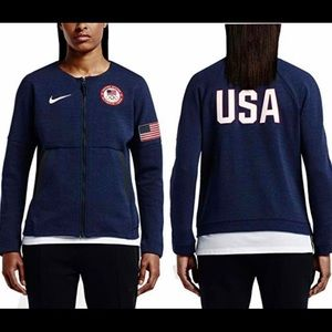 Nike USA Olympic Team Fleece Jacket